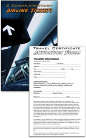 Complimentary Airline Ticket